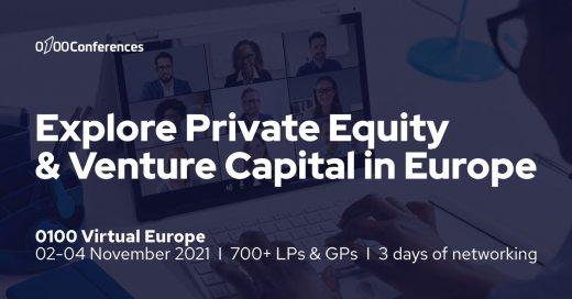 2-4 листопада відбудеться Віртуальна європейська конференція 0100 Conferences з прямого та венчурного інвестування